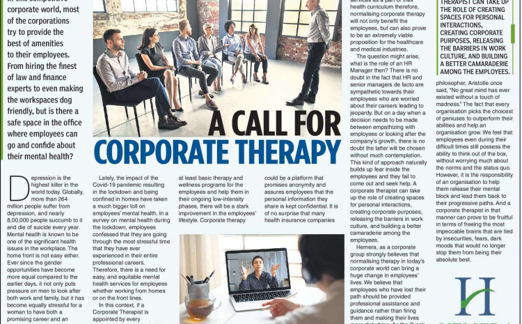A Call for Corporate Therapy