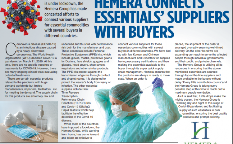 Hemera Connects Essentials' Suppliers with Buyers